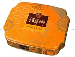 佳宁娜月饼-双黄白莲蓉月饼