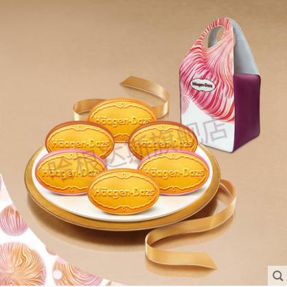 哈根达斯月饼-哈根达斯--圆满臻萃